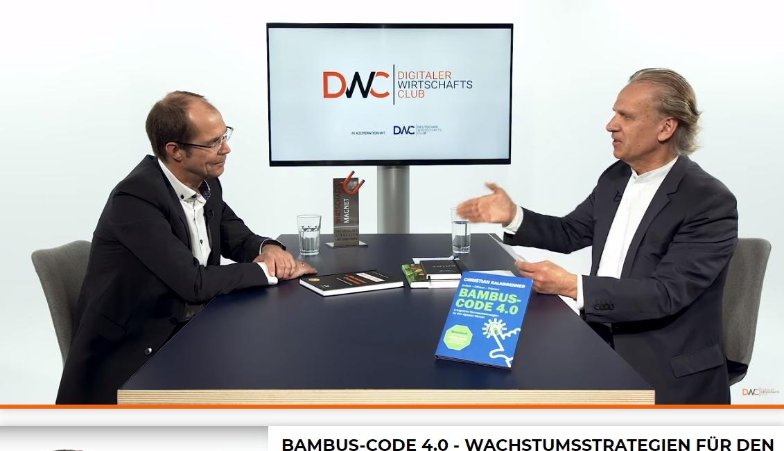 Interview zum Bambus-Code 4.0 beim DWC-TV