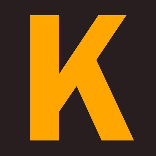 K logo icon retina